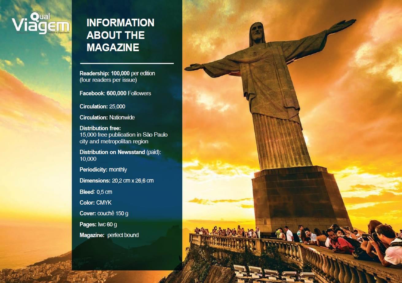 Qual Viagem Consumer Travel Magazine - Brazil